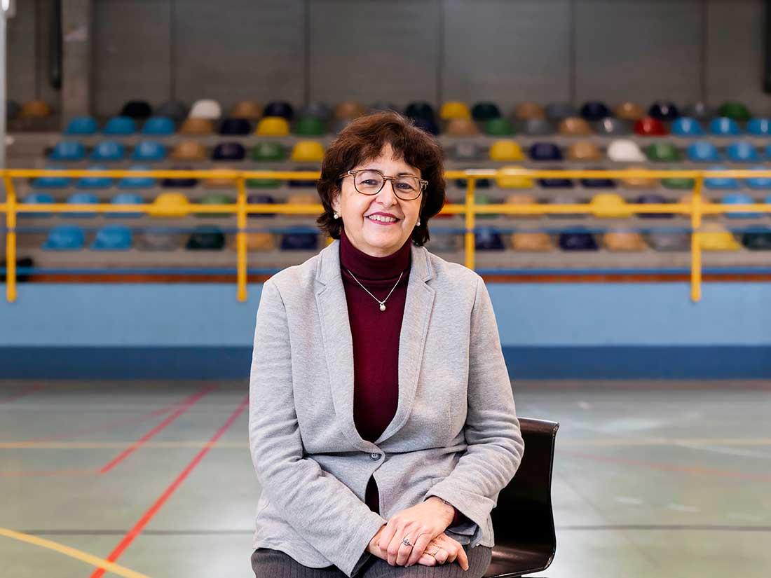 Profesora Delia Sáez