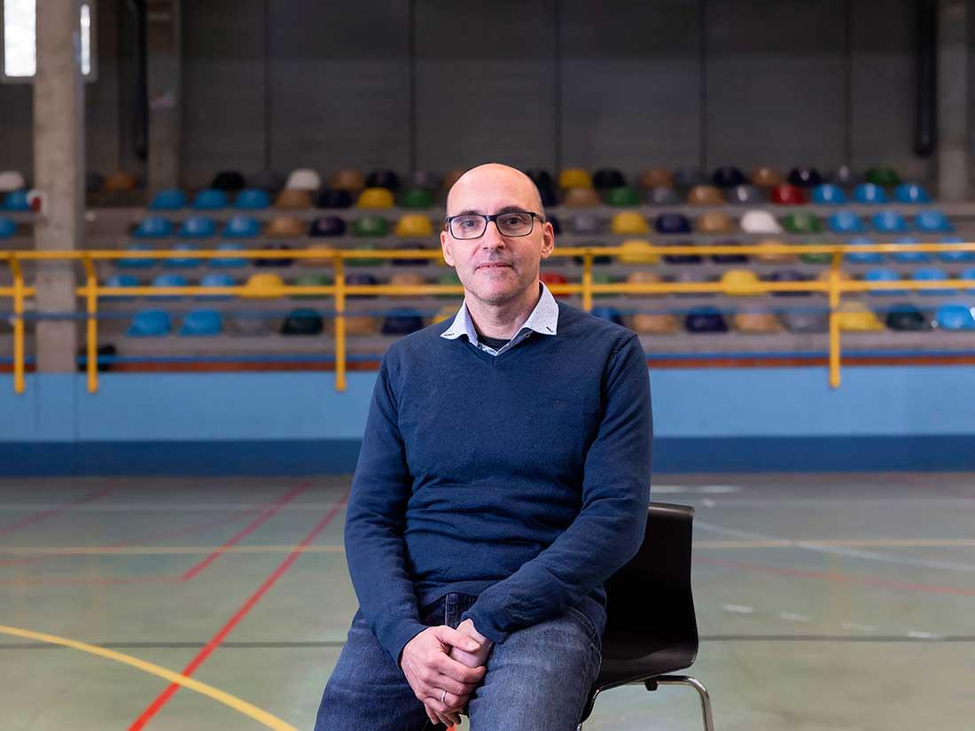 Profesor Joaquín Navascués