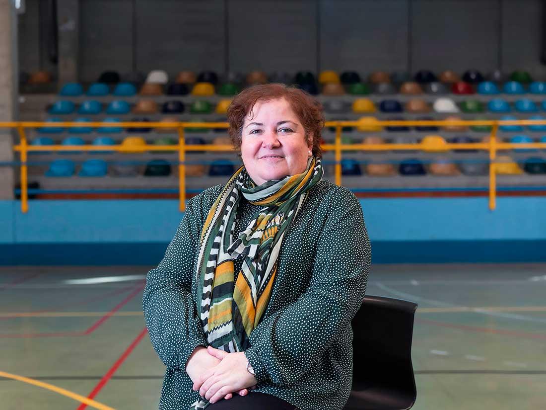 Profesora María Eugenia Marín