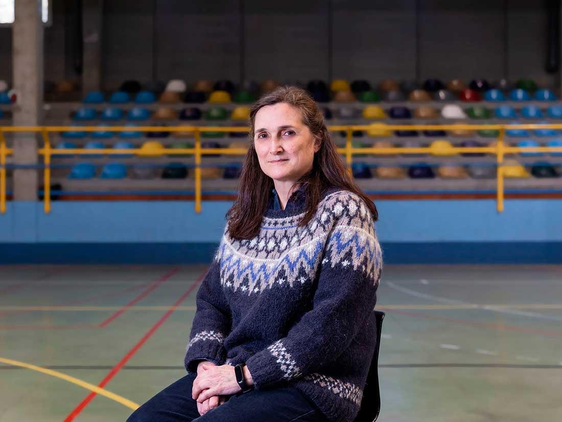 Profesora Pilar González