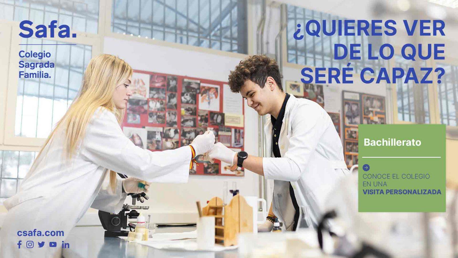 Campaña curso 21-22 alumnos en el laboratorio