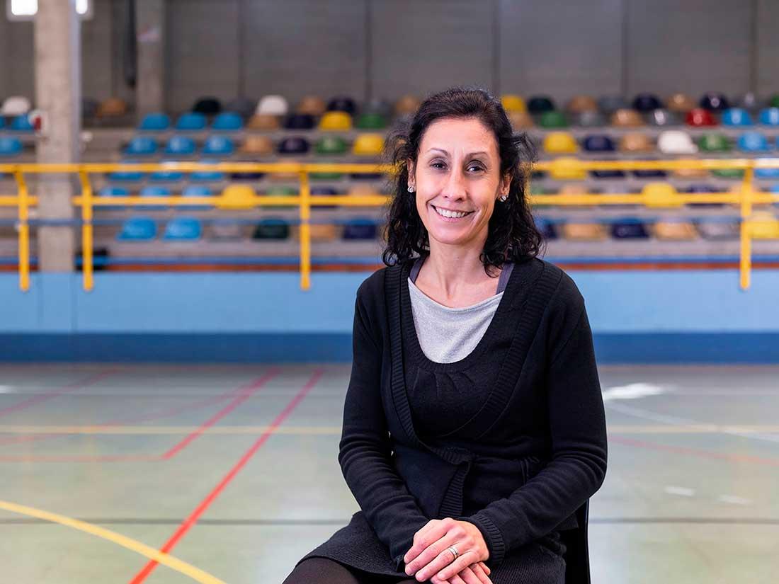 Profesora Eva Hernández
